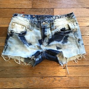 Miss Me Shorts - Miss Me Distressed Cut Off Shorts